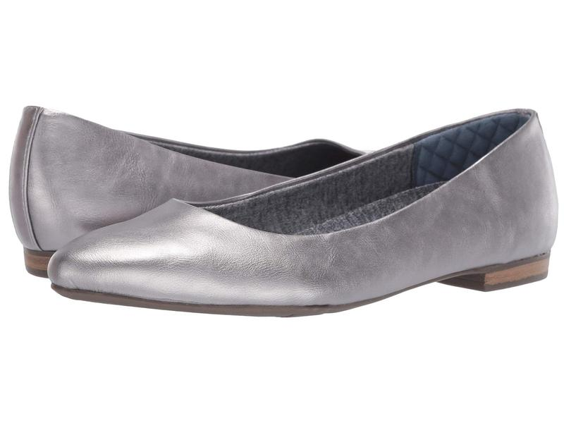 ドクター・ショール レディース サンダル シューズ Aston Pewter Glitter Metallic
