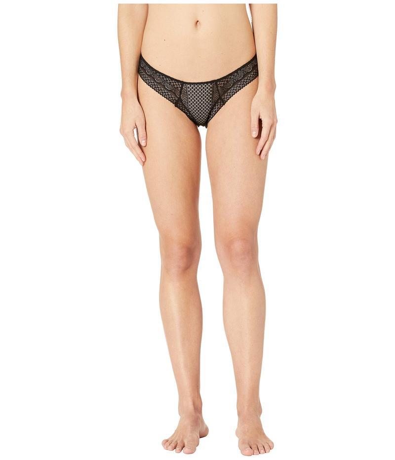 エバージェイ レディース パンツ アンダーウェア Kinga - The Throw Back Bikini Black