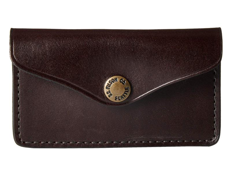 フィルソン メンズ 財布 アクセサリー Snap Wallet Brown