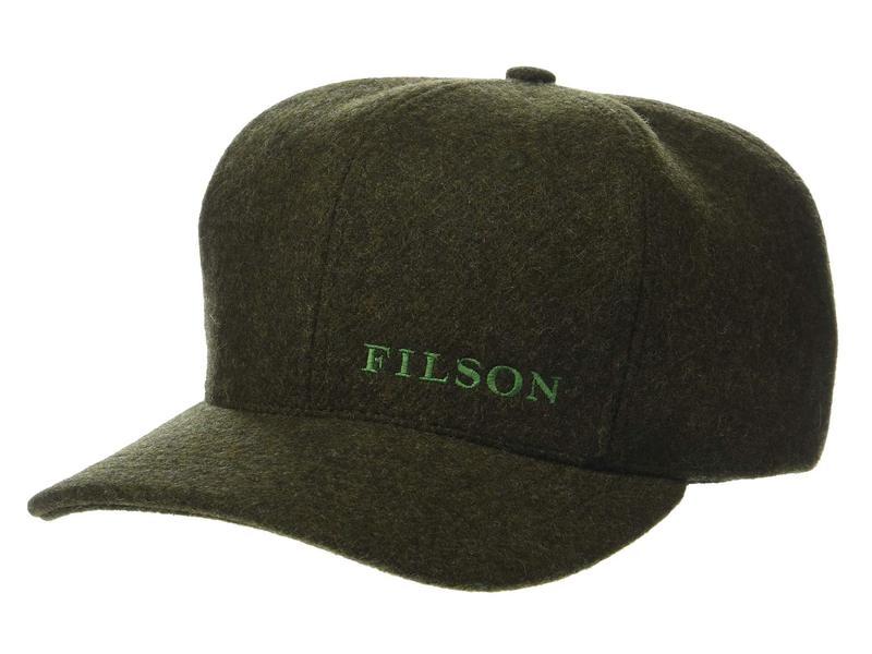 送料無料 サイズ交換無料 フィルソン メンズ アクセサリー 帽子 Forest Green フィルソン メンズ 帽子 アクセサリー Wool Logger Cap Forest Green