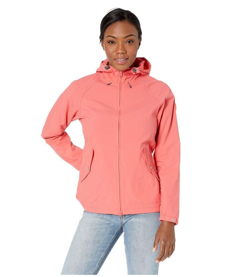 フェールラーベン レディース コート アウター Greenland Wind Jacket Peach Pink