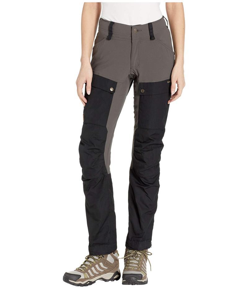 フェールラーベン レディース カジュアルパンツ ボトムス Keb Trousers Curved Black/Stone Grey