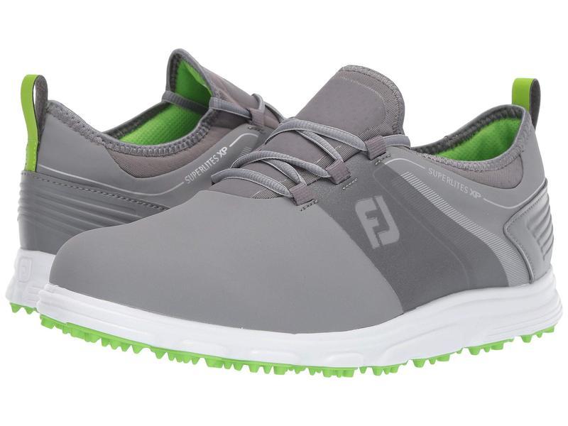 フットジョイ メンズ スニーカー シューズ Superlites XP Spikeless Grey/Green
