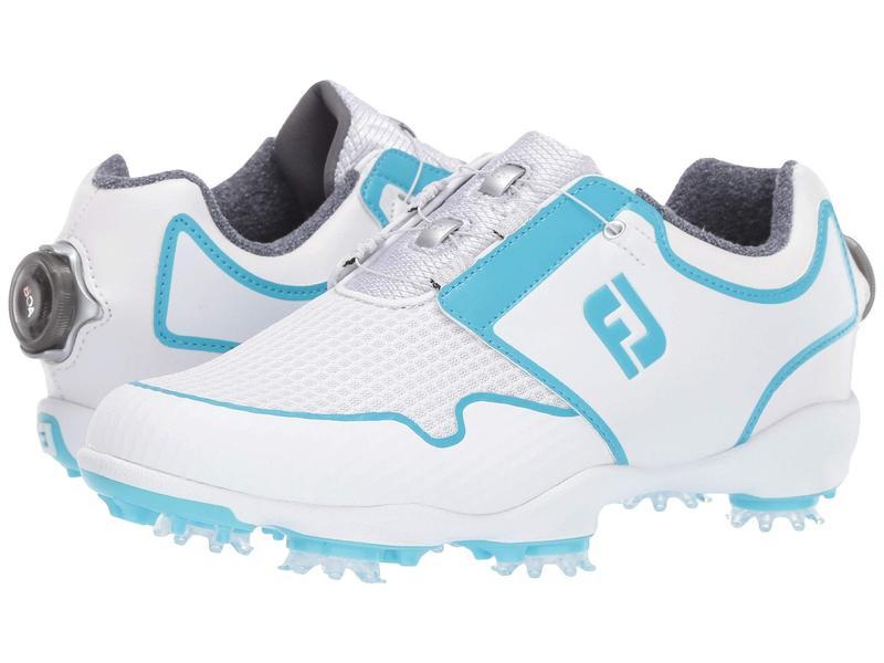 フットジョイ レディース スニーカー シューズ Sport TF BOA White/Bluefish
