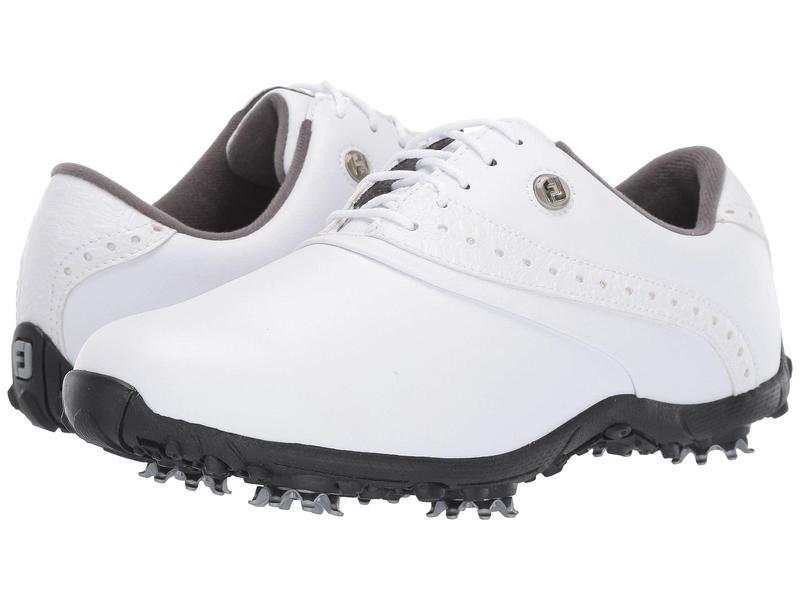 フットジョイ レディース スニーカー シューズ LoPro Collection White/White