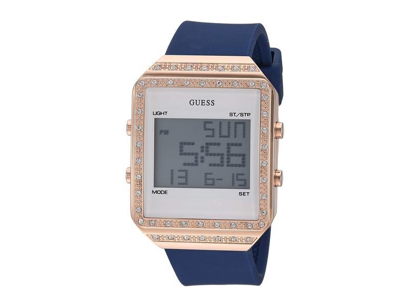 ゲス レディース 腕時計 アクセサリー U1224L3 Rose Gold-Tone/Blue