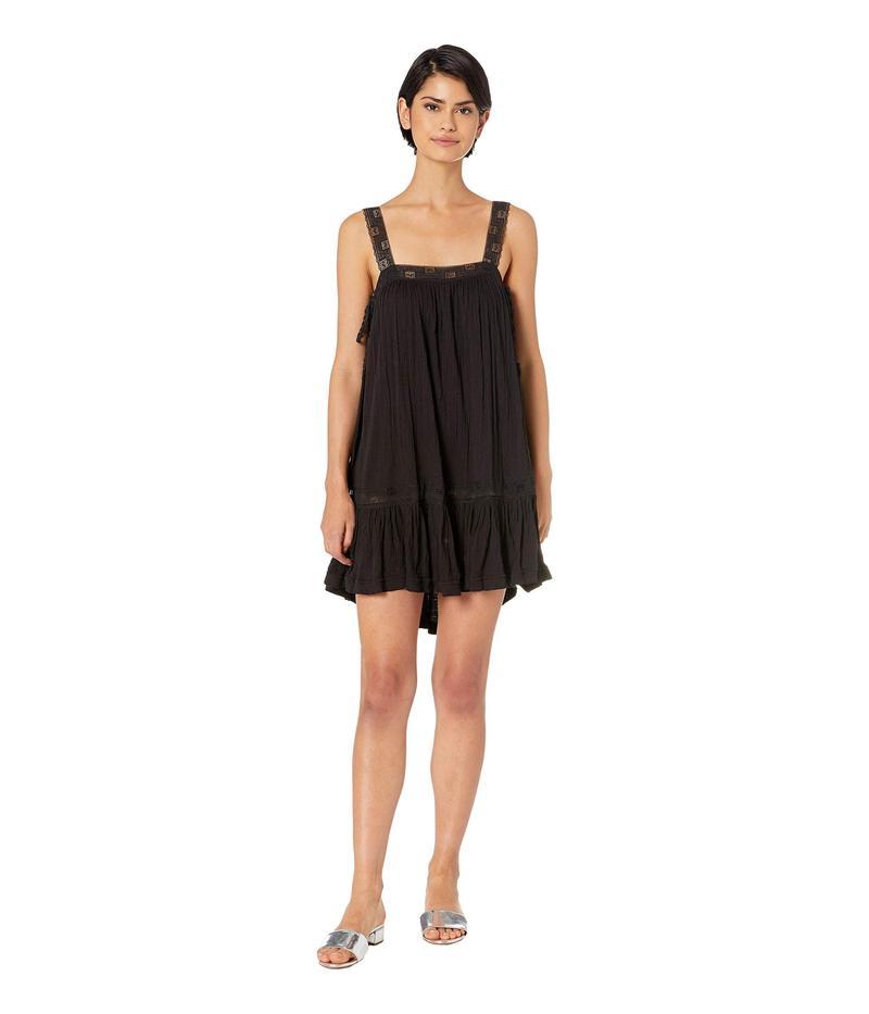 フリーピープル レディース ワンピース トップス Sweet Thing Tunic Dress Black