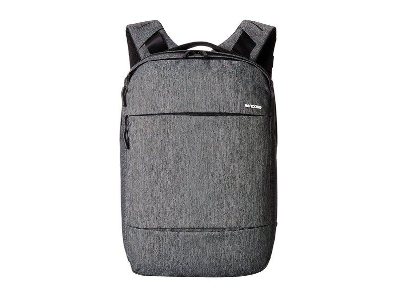 インケース メンズ バックパック・リュックサック バッグ City Collection Compact Backpack Heather Black/Gunmetal Gray