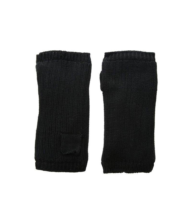 ハットアタック レディース 手袋 アクセサリー Rib Knit Cozy Arm Warmer Black