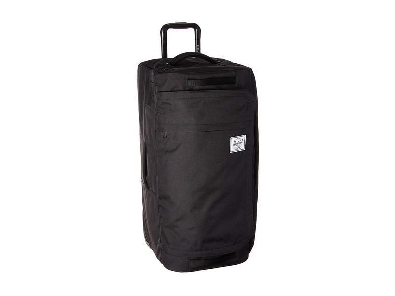 ハーシェルサプライ メンズ ボストンバッグ バッグ Wheelie Outfitter 90L Black