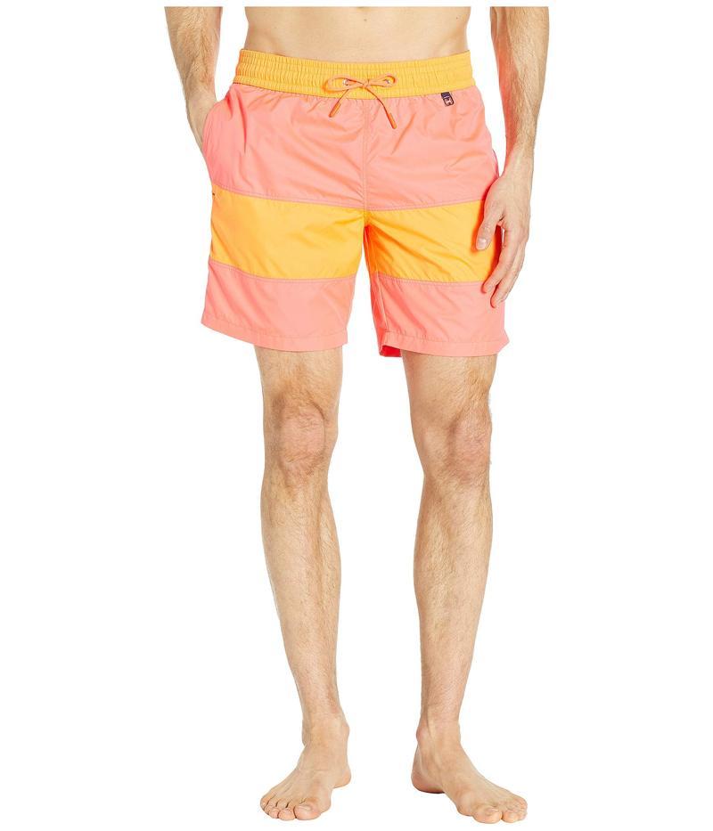 ホム メンズ ハーフパンツ・ショーツ 水着 Barbado Long Beach Boxer Red