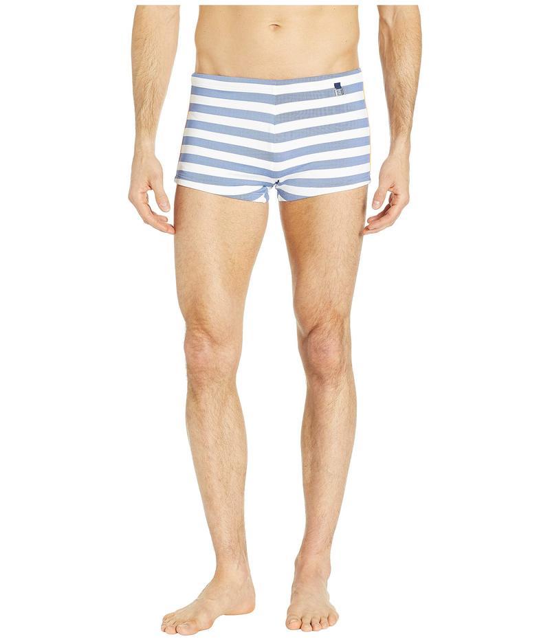ホム メンズ ハーフパンツ・ショーツ 水着 Rivages Swim Shorts White/Blue