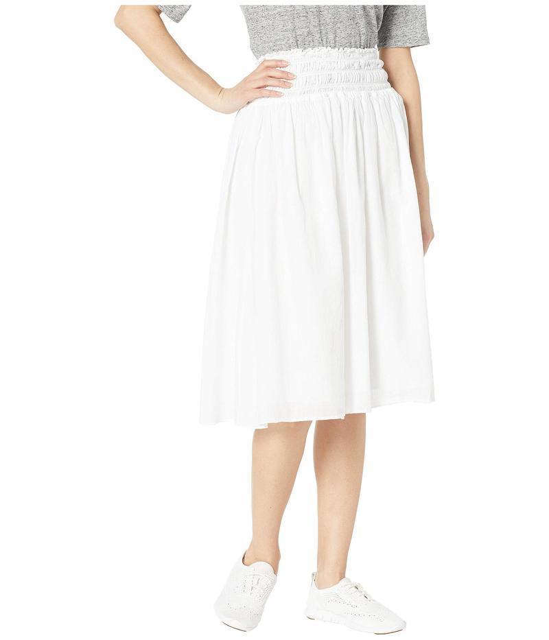 ハードテイル レディース スカート ボトムス Smocked Waist Ballet Skirt White