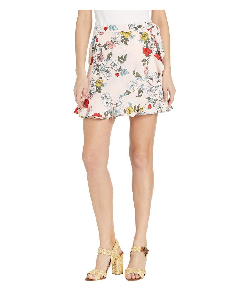 ジャック バイ ビービーダコタ レディース スカート ボトムス Wrap It Up Printed Wrap Skirt Mauve Rose