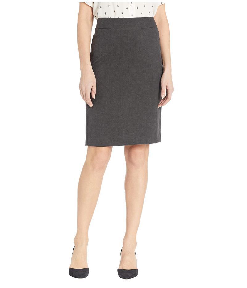 ジョーンズニューヨーク レディース スカート ボトムス Washable Suiting Pencil Skirt Pewter Heather