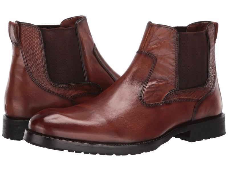 ケネスコール メンズ ブーツ・レインブーツ シューズ Brewster Boot Cognac