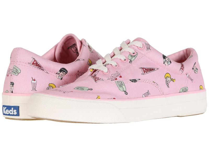 ケッズ レディース スニーカー シューズ Keds x Betty and Veronica Anchor Riverdale Pink Twill