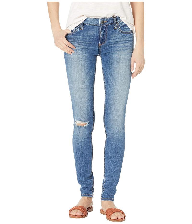 カットフロムザクロス レディース デニムパンツ ボトムス Mia Toothpick Skinny Jeans in Lighten w/ Medium Base Wash Lighten w/ Medium Base Wash