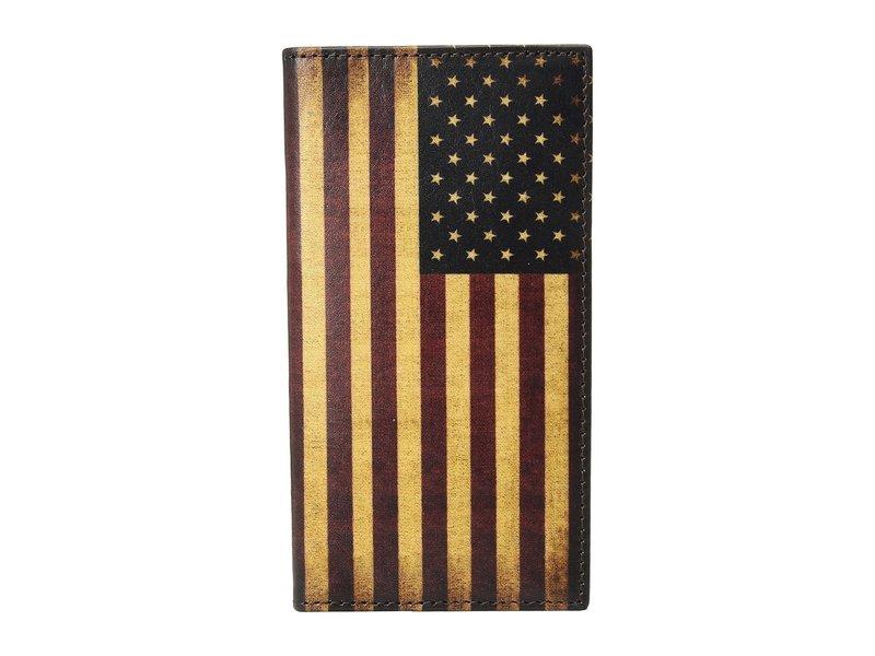 エムエフウエスターン メンズ 財布 アクセサリー Vintage USA Flag Rodeo Wallet Multi