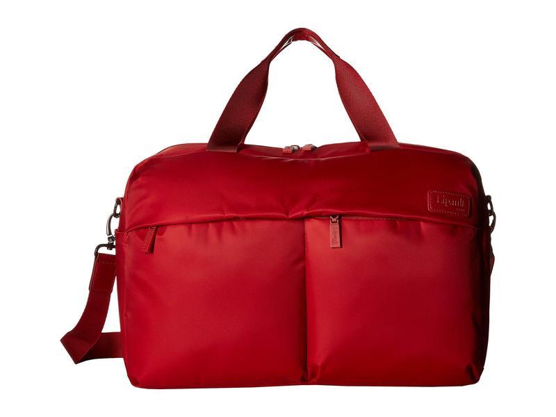 リパルトパリ レディース ボストンバッグ バッグ City Plume 24 Hour Bag Cherry Red