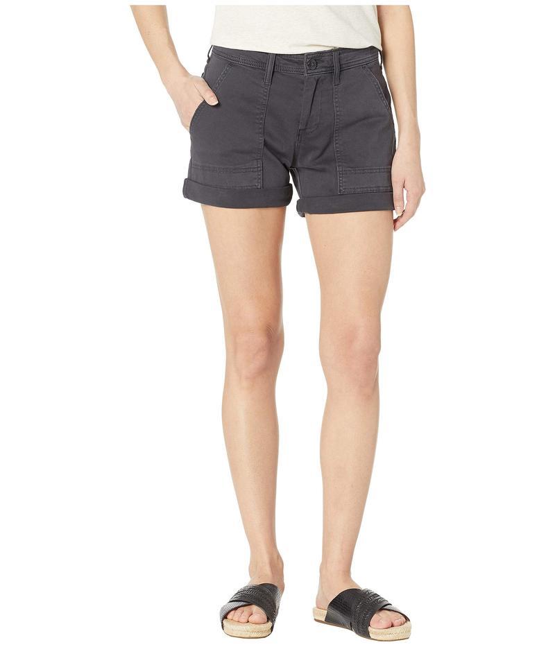 ラッキーブランド レディース ハーフパンツ・ショーツ ボトムス Ava Utility Shorts Lucky Black