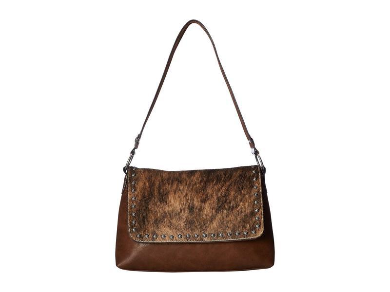 エムエフウエスターン レディース ハンドバッグ バッグ Lynlee Conceal & Carry Shoulder Bag Brown