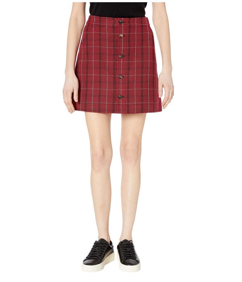 アレキサンダー・マックイーン レディース スカート ボトムス Varsity Skirt Red Check