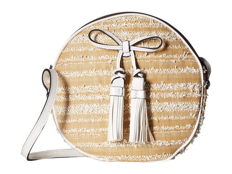 パトリシアナシュ ハンドバッグ レディース ハンドバッグ Canteen Crossbody バッグ Ebbe Woven Straw Sibari Canteen Crossbody White, オフィスイオマン:ac6b311b --- sunward.msk.ru