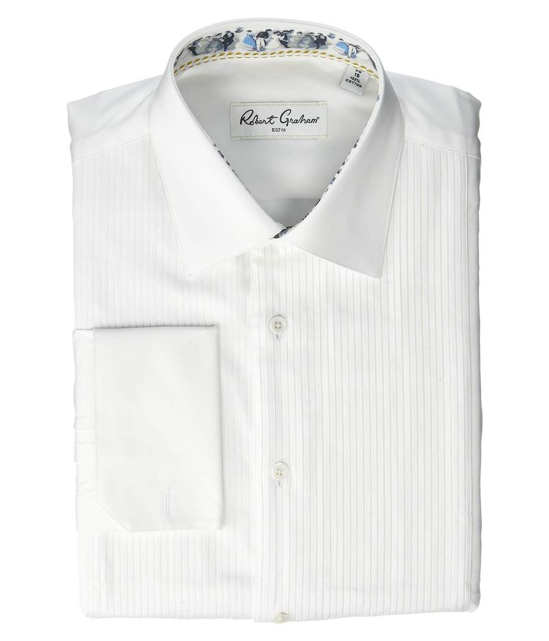 ロバートグラハム メンズ シャツ トップス Frank Tuxedo Shirt White