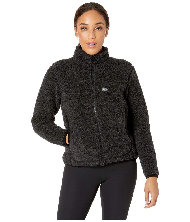 スノーピーク レディース コート アウター Wool Fleece Jacket Black