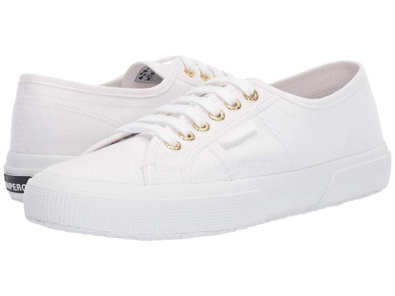 スペルガ レディース スニーカー シューズ 2750 COTU Classic Sneaker White/Gold
