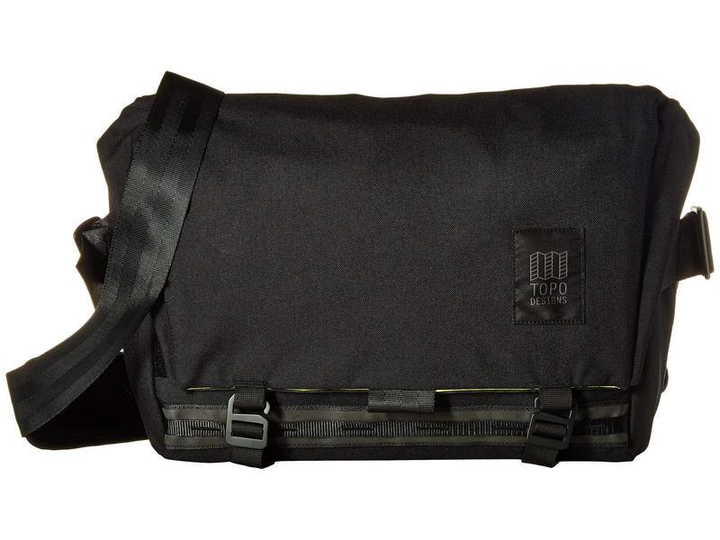 トポ・デザイン メンズ ショルダーバッグ バッグ Messenger Bag Black
