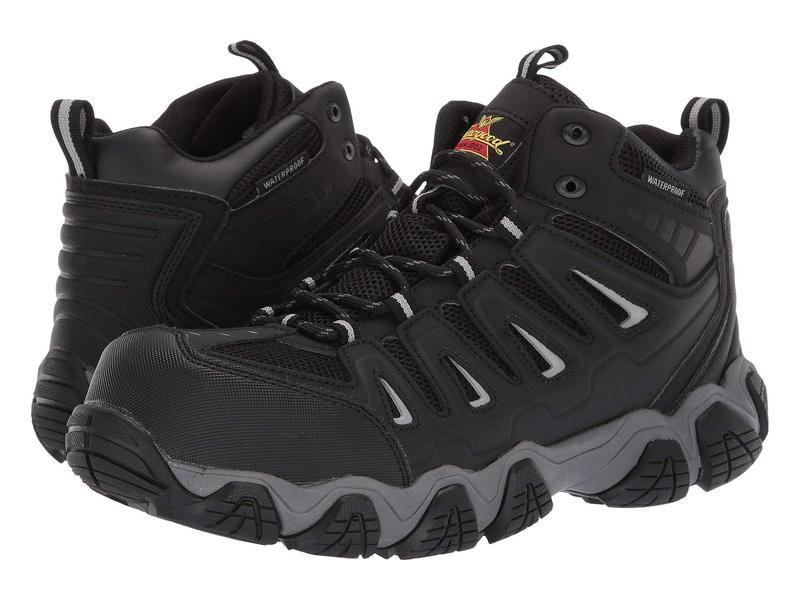 ソログッド メンズ ブーツ・レインブーツ シューズ Crosstrex Mid Waterproof Comp Toe Black/Grey