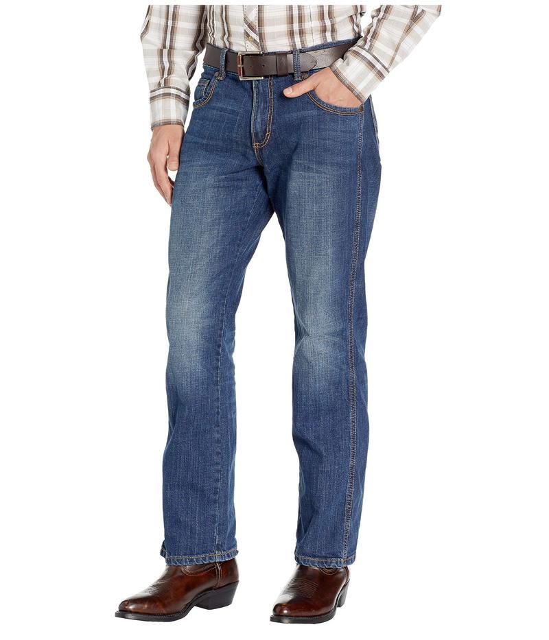 ラングラー メンズ デニムパンツ ボトムス Retro Slim Straight Jeans Cottonwood