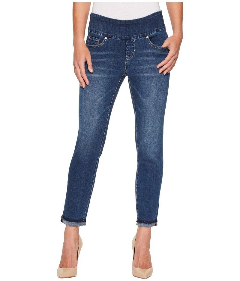 ジャグジーンズ レディース デニムパンツ ボトムス Amelia Slim Ankle Pull-On Jeans in Kodiak Blue/Undone Hem Kodiak Blue/Undone Hem
