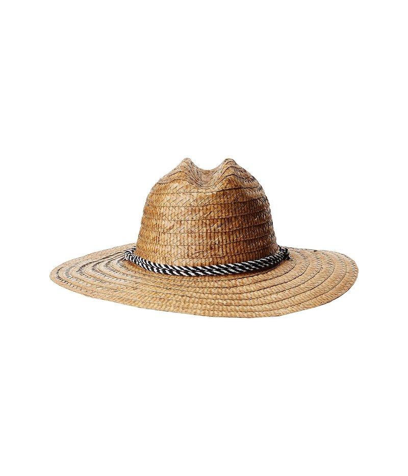 サンディエゴハット メンズ 帽子 アクセサリー Kwai Braided Straw Lifeguard Natural