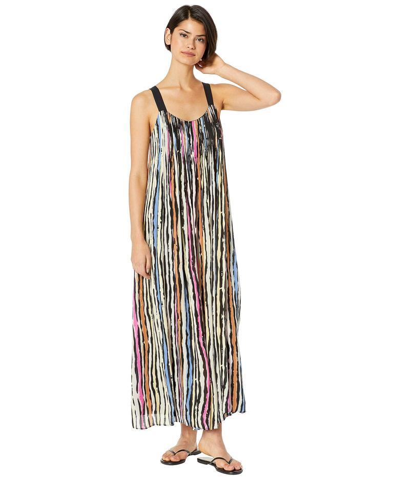 ビーシービージーマックスアズリア レディース ワンピース トップス Striped Maxi Dress Chalky Stripe Multi