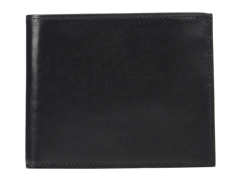 ボスカ メンズ 財布 アクセサリー Old Leather Euro RFID Executive Wallet w/ Coin Pocket Black