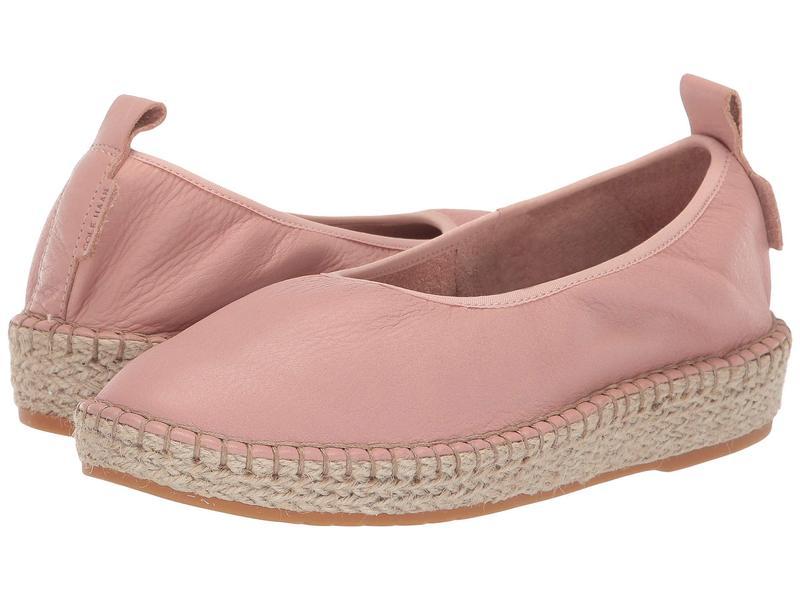 コールハーン レディース スリッポン・ローファー シューズ Cloudfeel Espadrille Loafers Mahogany Rose Leather/Natural Jute