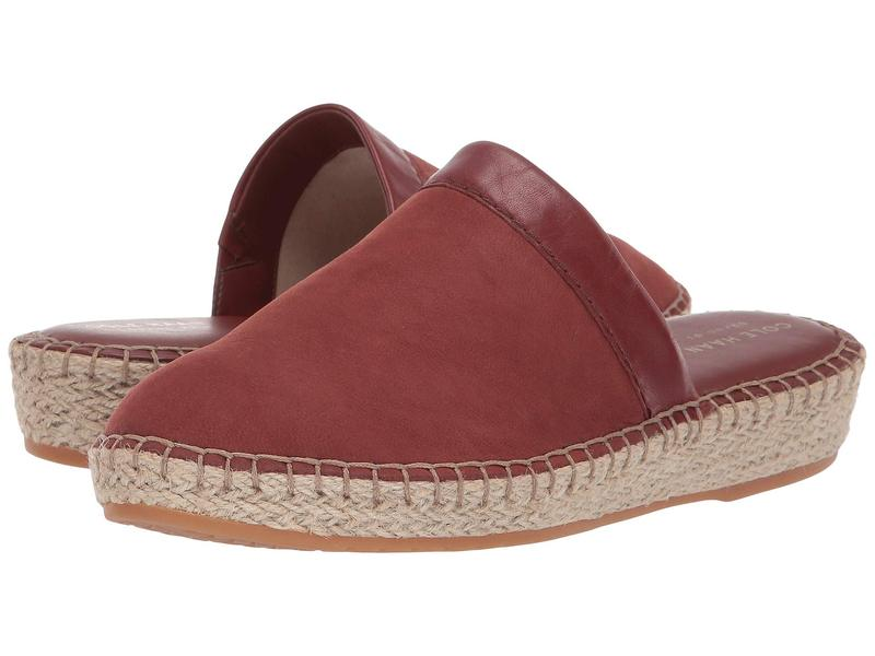 コールハーン レディース スリッポン・ローファー シューズ Cloudfeel Espadrille Slide Cherry Mahagony Nubuck/Cherry Mahagony Leather/Natural Jute/Gum