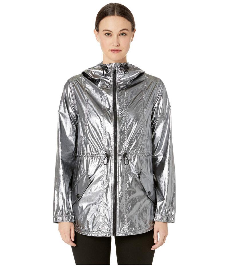クシュニーエオクス レディース コート アウター Hooded Jacket with Adjustable Waist and Pockets Gunmetal