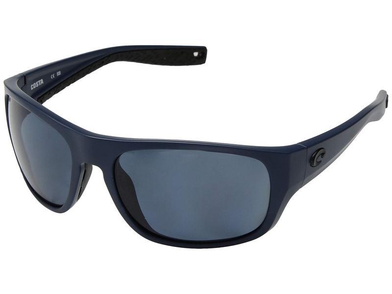 コスタ メンズ サングラス・アイウェア アクセサリー Tico Gray 580P/Matte Midnight Blue Frame