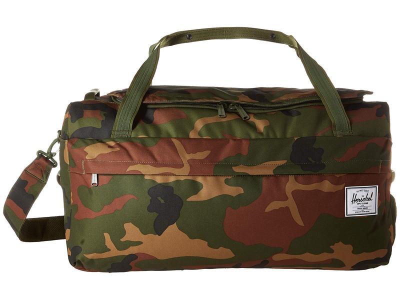 ハーシェルサプライ メンズ ボストンバッグ バッグ Outfitter 70 L Woodland Camo
