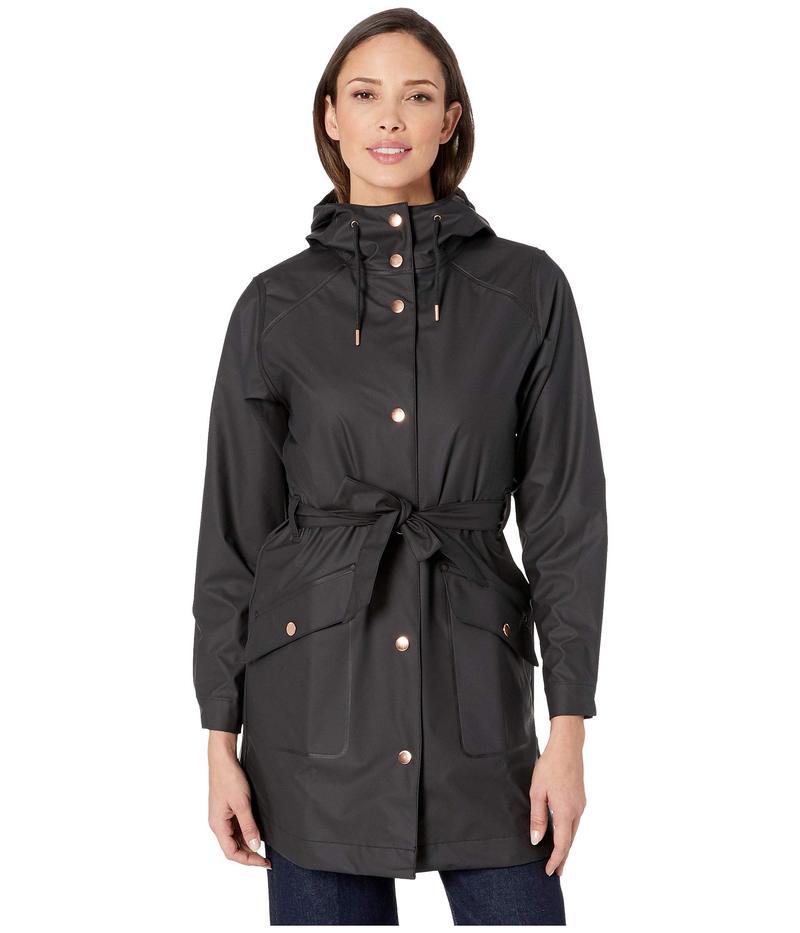 ヘリーハンセン レディース コート アウター Kirkwall II Raincoat Black