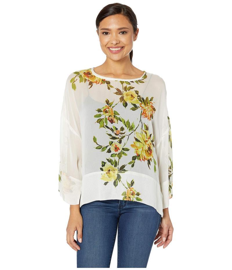 カレンケーン レディース シャツ トップス Floral Side Slit Top Floral Print