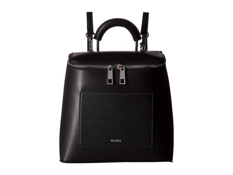 155ee7bb8a0c 送料無料 サイズ交換無料 アルド レディース バッグ バックパック・リュックサック Black Leather アルド