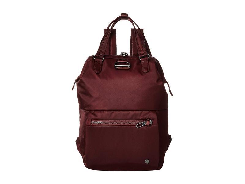 【再入荷!】 パックセーフ メンズ バックパック・リュックサック バッグ Citysafe CX Anti-Theft Mini Backpack Merlot, ジェイピットショップ cc6dde2b