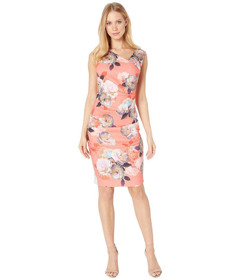 ニコルミラー レディース ワンピース トップス Asymmetrical Tuck Dress Multicolor