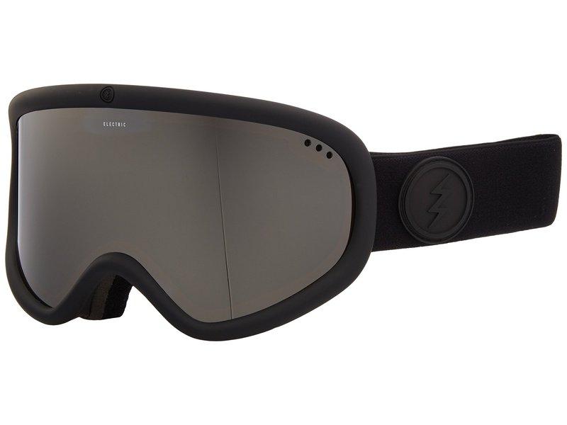 エレクトリックアイウェア メンズ サングラス・アイウェア アクセサリー Charger XL Matte Black Frame/Brose Silver Chrome Lens