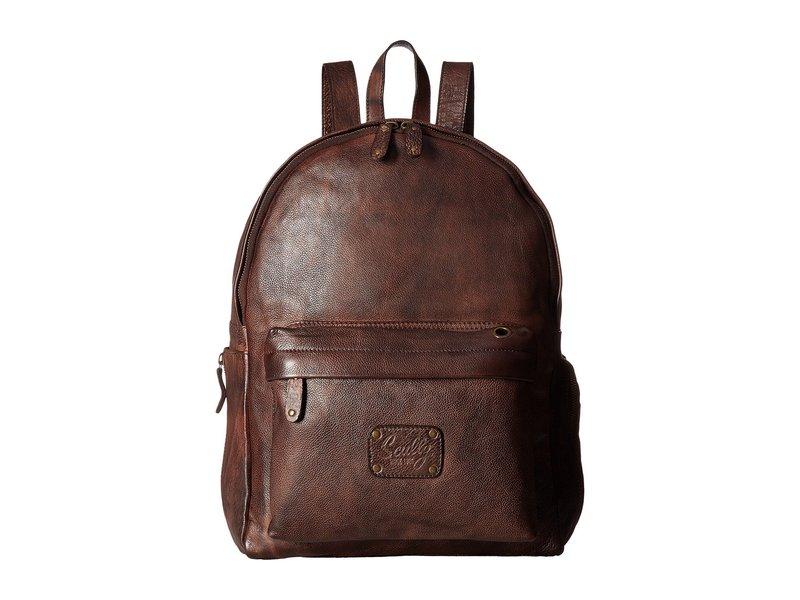 スカーリー メンズ バックパック・リュックサック バッグ Solvang Backpack Brown